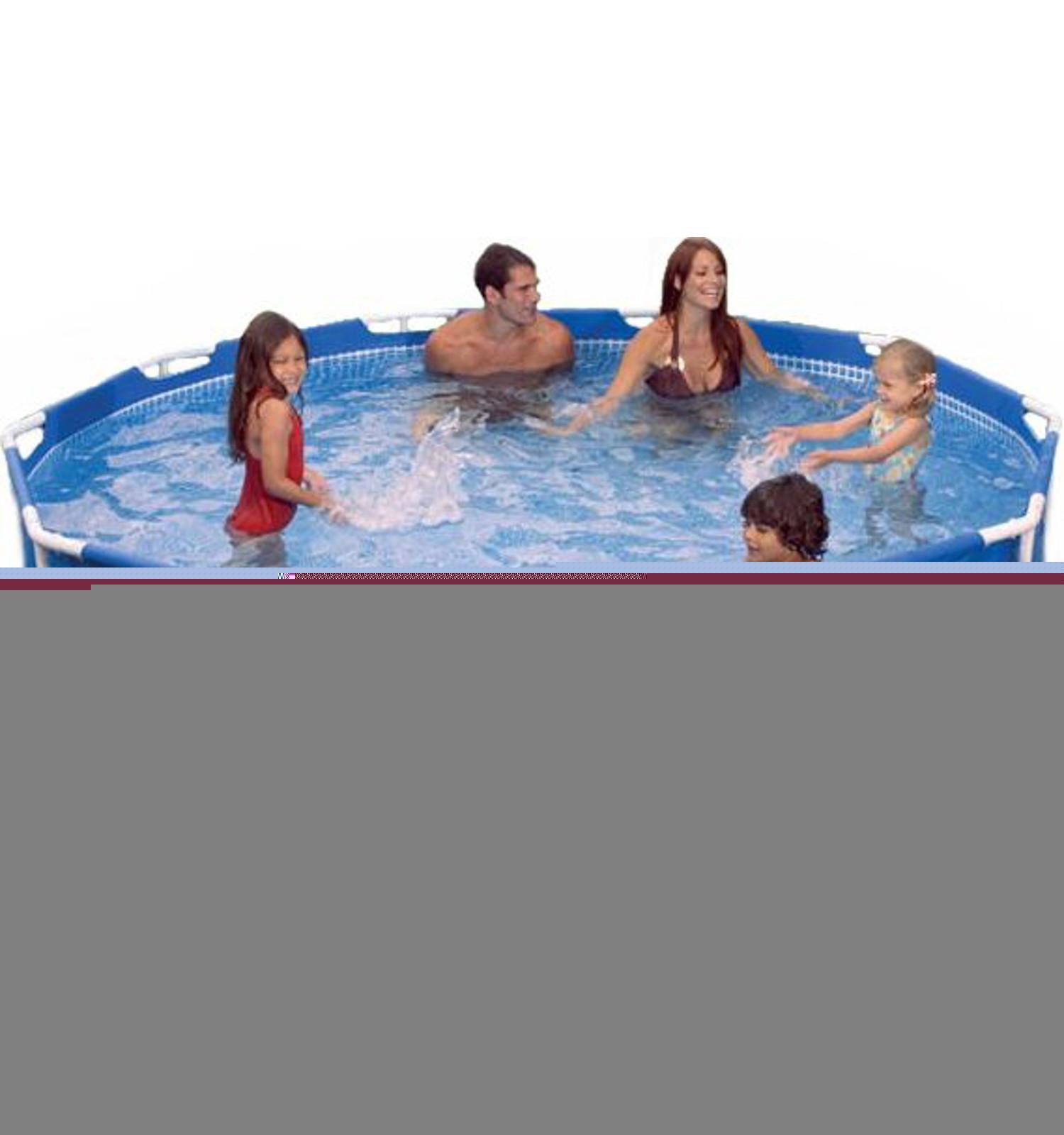 Intex Metal Frame Pool 305x76cm (NEU) | eBay