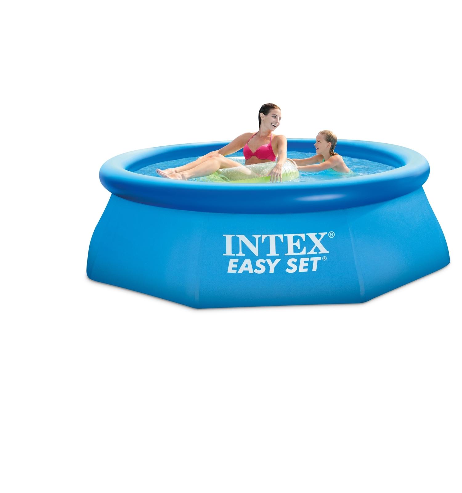 intex easy set pool 366x91 cm ohne pumpe neu ebay. Black Bedroom Furniture Sets. Home Design Ideas