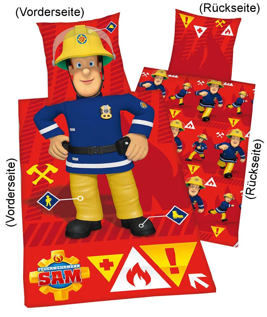Feuerwehrmann Sam Bettwäsche \