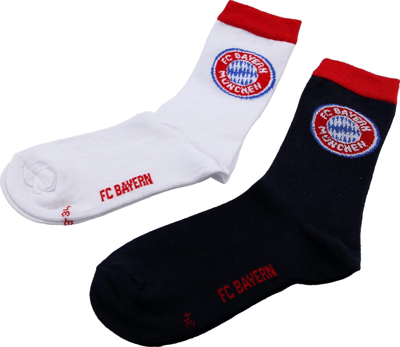 Fc Bayern München Kinder Socken 2er Set Verschiedene Größen