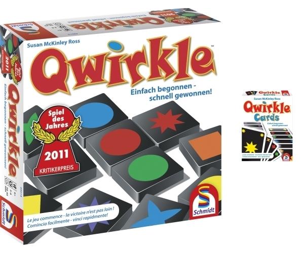 Qwirkle Kartenspiel