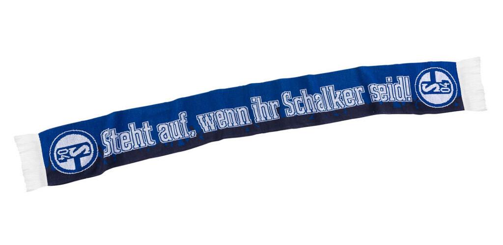 Fc Schalke 04 Schal Steht Auf Wenn Ihr Schalker Seit