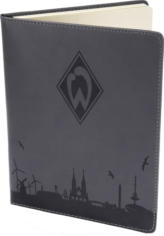 Geliebte SV Werder Bremen Notizbuch Skyline &FV_72