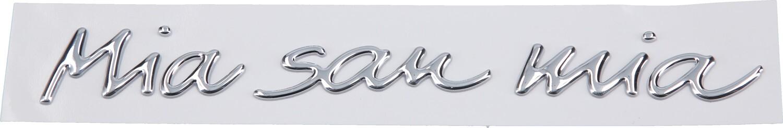 Fc Bayern München Auto Aufkleber Chrom Mia San Mia