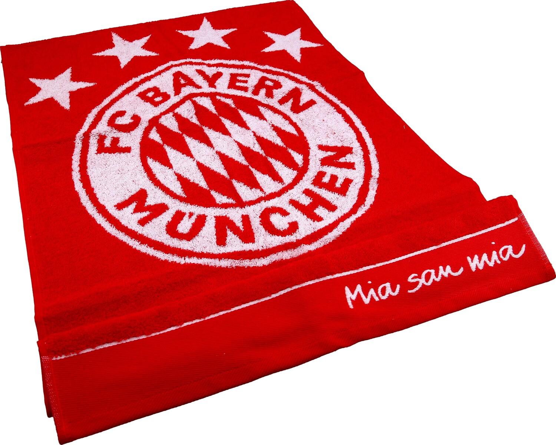 FC Bayern M/ünchen Handtuch Logo rot 100x50 cm
