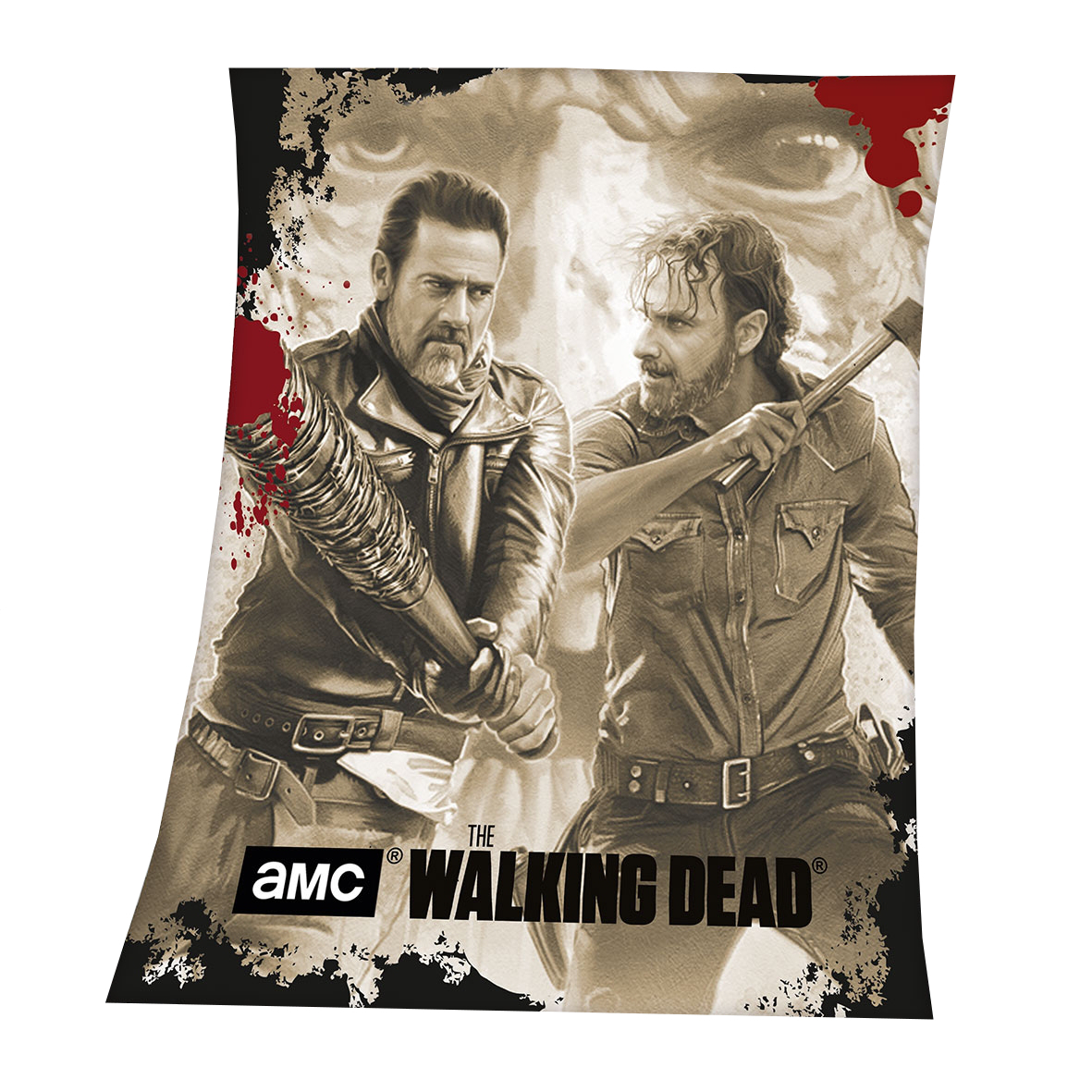 The Walking Dead Fleecedecke Negan 130x160cm