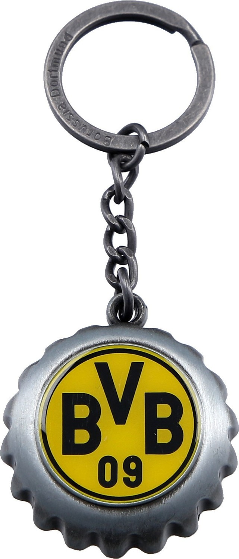 Borussia Dortmund BVB 09 BVB-Schl/üsselanh/änger m Flaschen/öf
