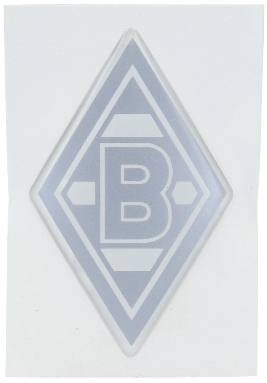 Borussia Mönchengladbach Aufkleber Silberfarben Raute