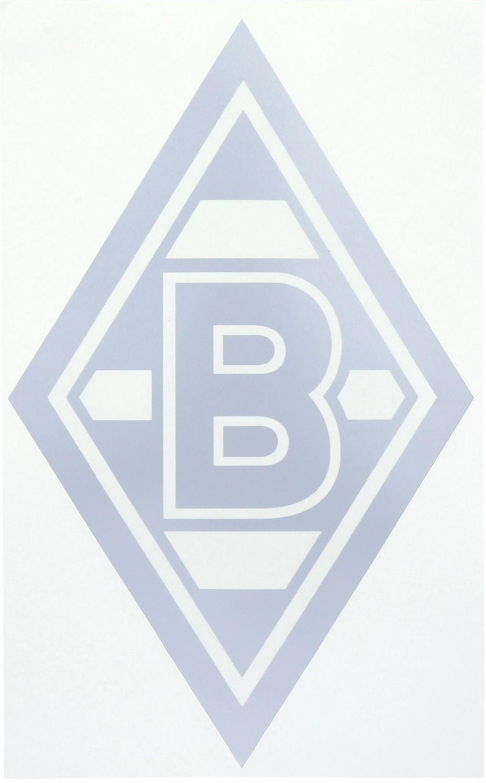 Borussia Mönchengladbach Edelaufkleber Raute Groß 35x20cm