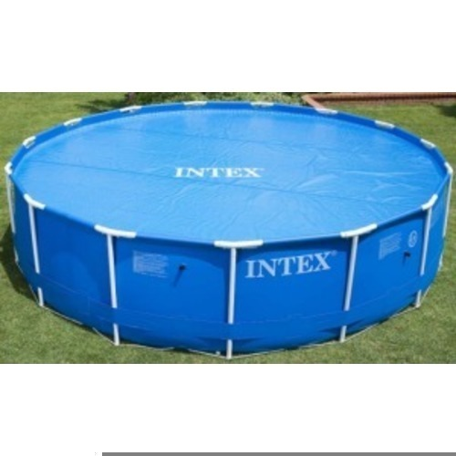 solar abdeckplane f r easy set pools bis 457cm. Black Bedroom Furniture Sets. Home Design Ideas