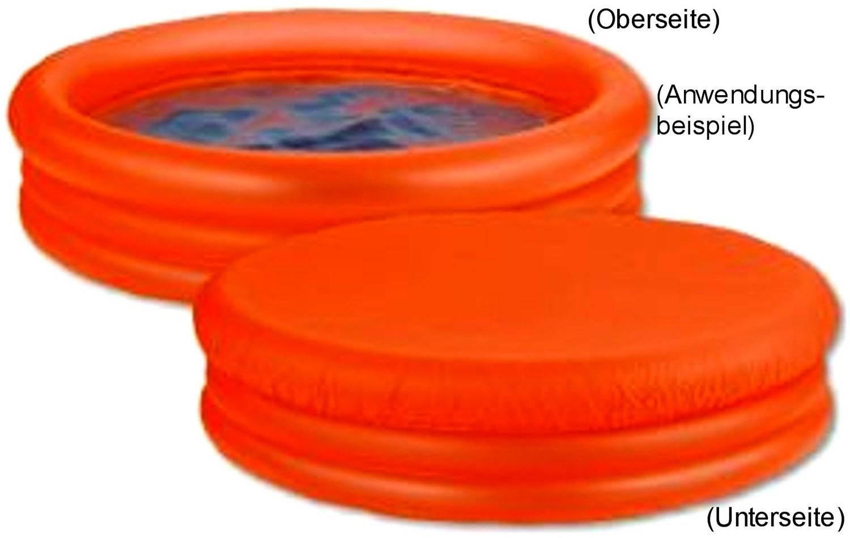 solar planschbecken cool & fresh, orange, 144 cm