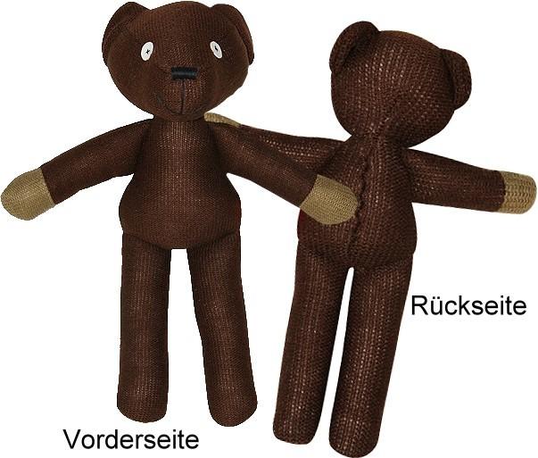 Mr bean teddy plüschfigur
