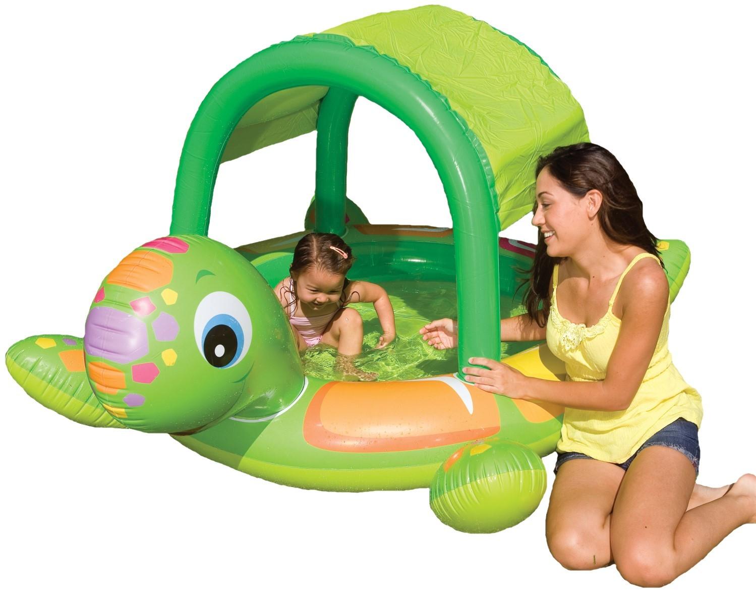 baby pool turtle. Black Bedroom Furniture Sets. Home Design Ideas