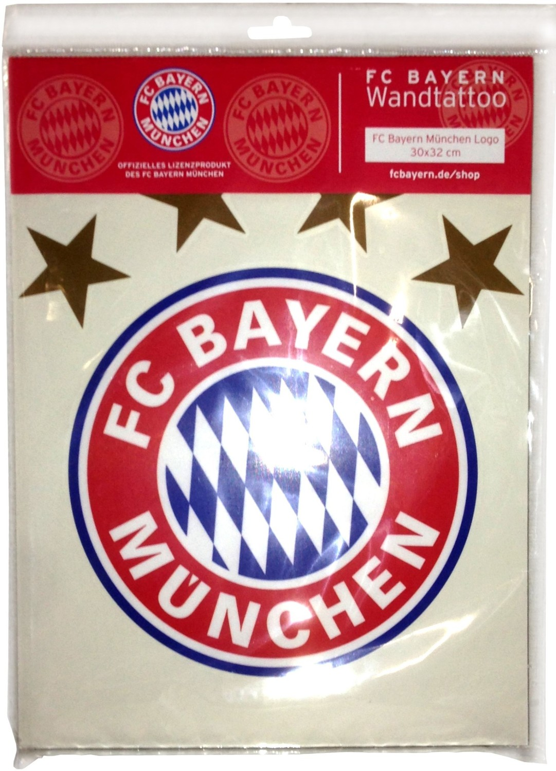 fc bayern m nchen wandtattoo logo. Black Bedroom Furniture Sets. Home Design Ideas