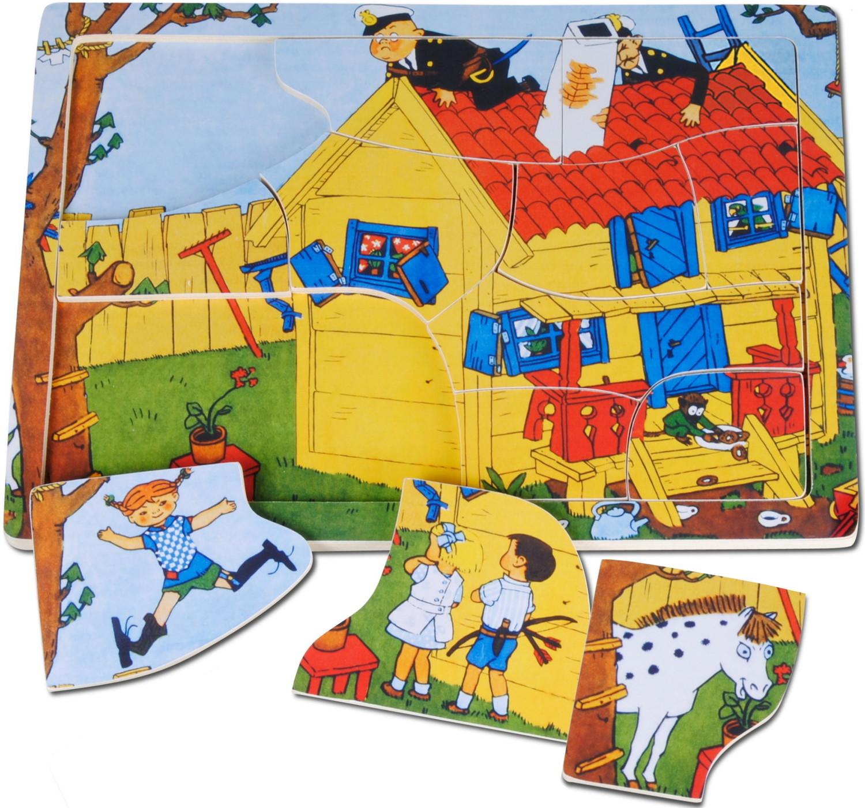 Pippi Langstrumpf Puzzle
