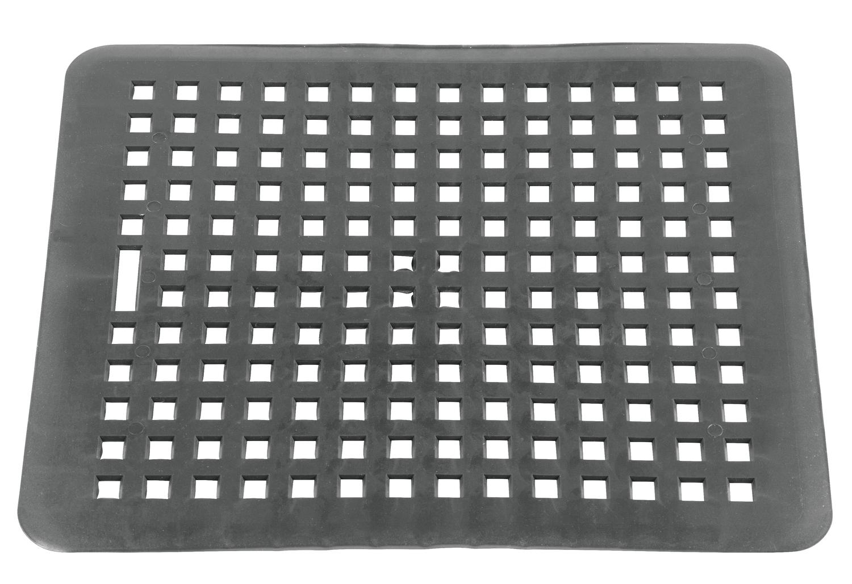 sp lbeckenmatte eckig grau. Black Bedroom Furniture Sets. Home Design Ideas