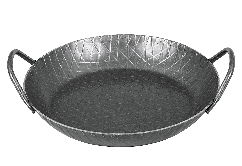 turk eisenpfanne 28cm 2 griffe hoher rand. Black Bedroom Furniture Sets. Home Design Ideas