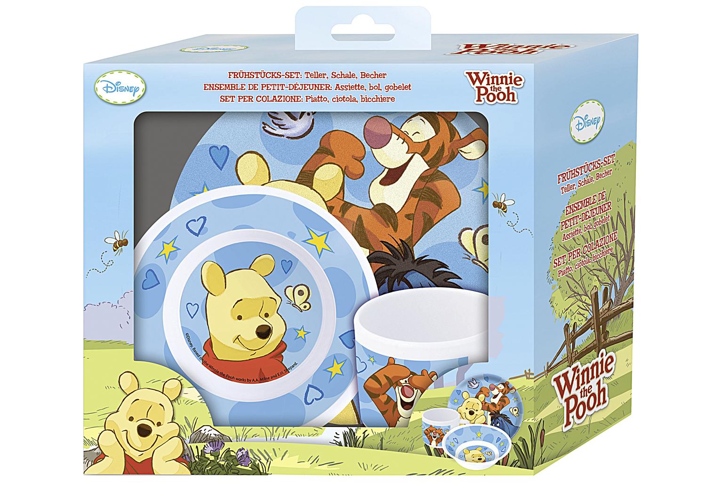 Winnie Puuh 3-teiliges Geschirrset