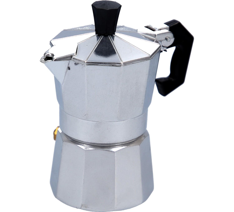 my basics espressokocher f r 1 tasse. Black Bedroom Furniture Sets. Home Design Ideas