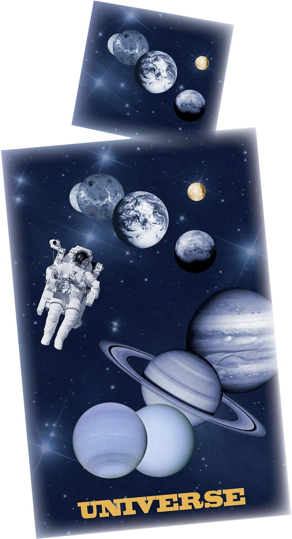 Weltall Bettwäsche Universum 135x200 Cm