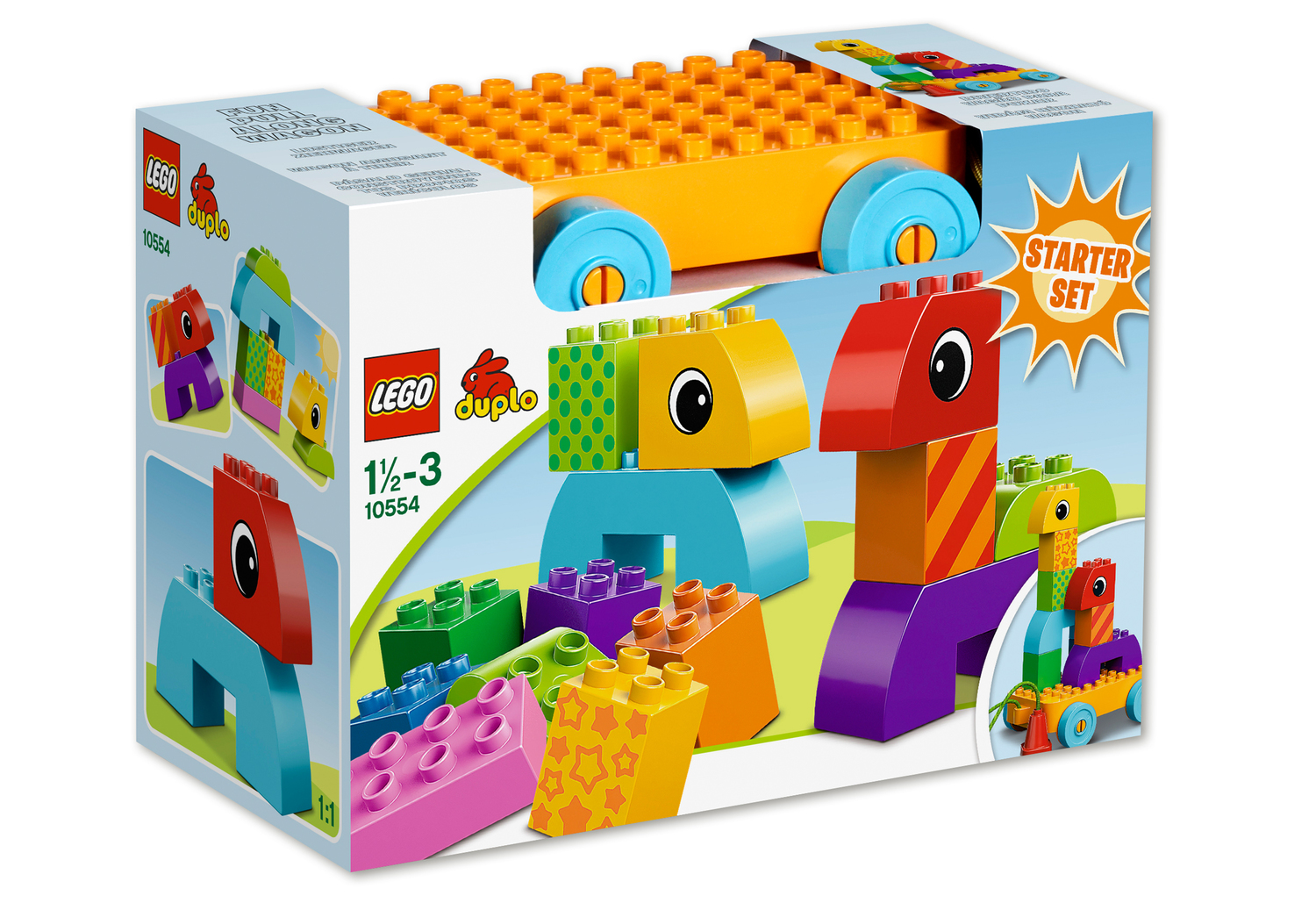 lego 10554 duplo steine co nachzieh spielset. Black Bedroom Furniture Sets. Home Design Ideas