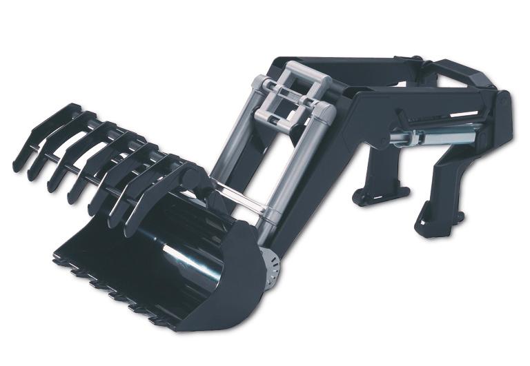 Bruder profi serie frontlader für die traktor serie 03000
