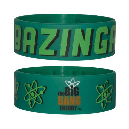the big bang theory gummi armband bazinga. Black Bedroom Furniture Sets. Home Design Ideas
