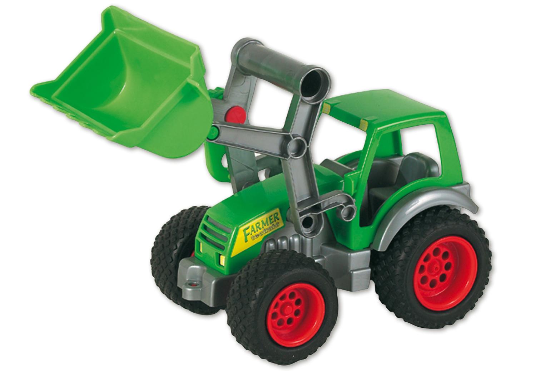 Wader farmer traktor m frontlader u kipper