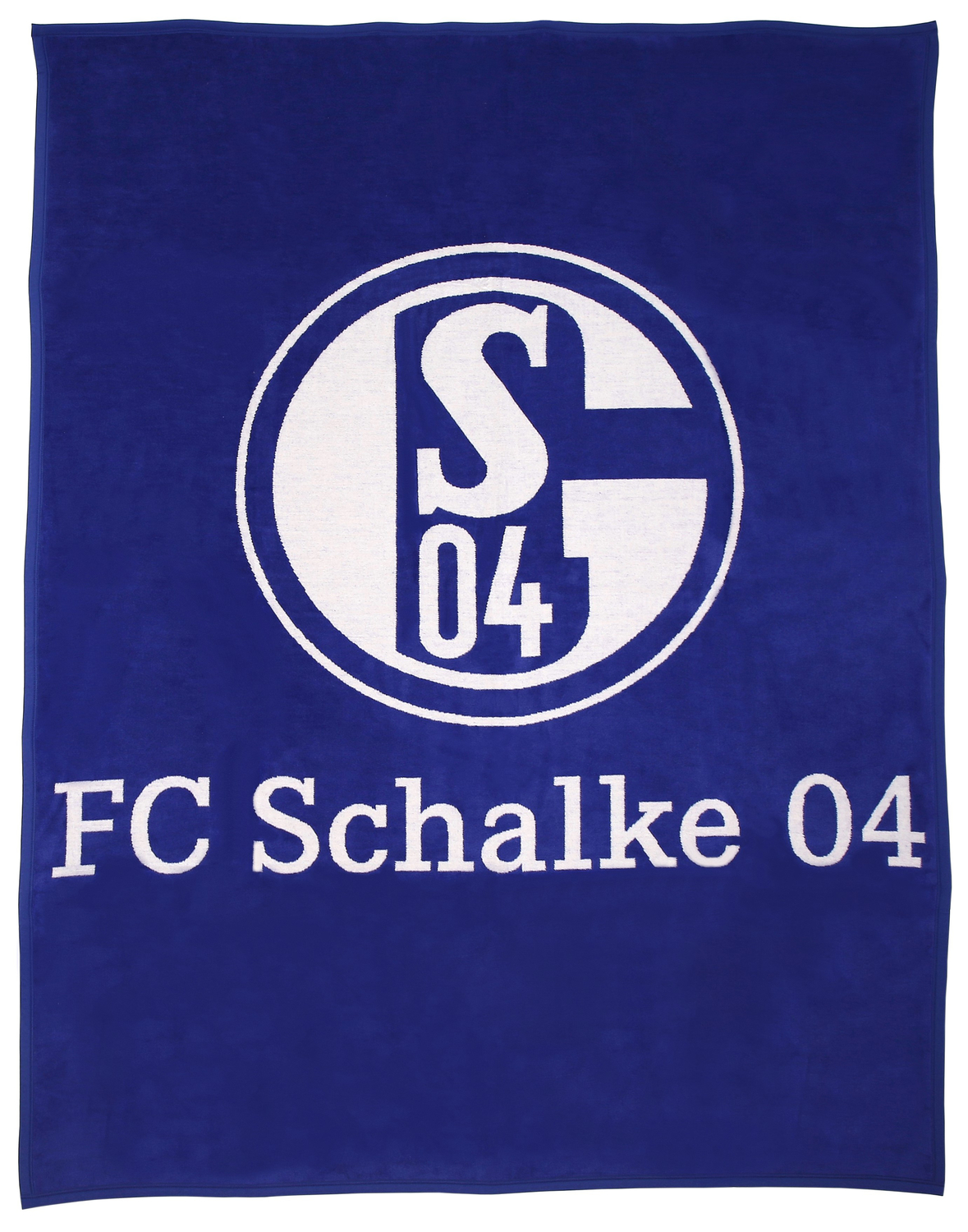 fc schalke 04 veloursdecke plakat 150x200cm. Black Bedroom Furniture Sets. Home Design Ideas