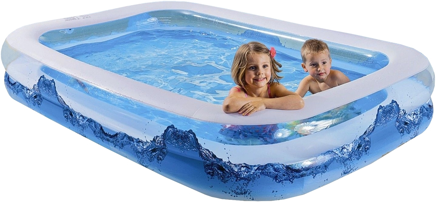 wehncke jumbo pool water wave, 200x150x50 cm