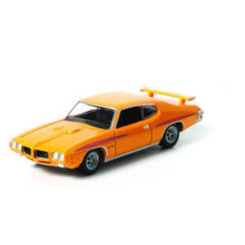 asphaltrennen diecast modell 1970 pontiac gto orange. Black Bedroom Furniture Sets. Home Design Ideas