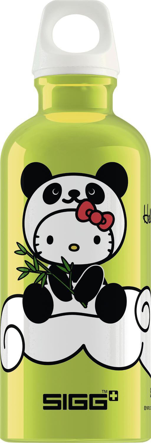 sigg trinkflasche hello kitty panda lime 0 4 liter. Black Bedroom Furniture Sets. Home Design Ideas