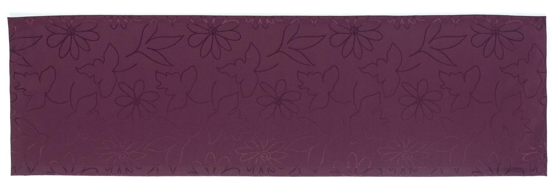 friedola tischl ufer 40x140cm modern flowers bordeaux. Black Bedroom Furniture Sets. Home Design Ideas