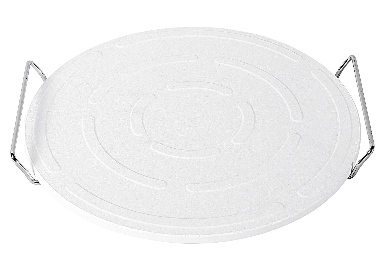 kapimex pizzastein mit halter 33cm durchmesser. Black Bedroom Furniture Sets. Home Design Ideas