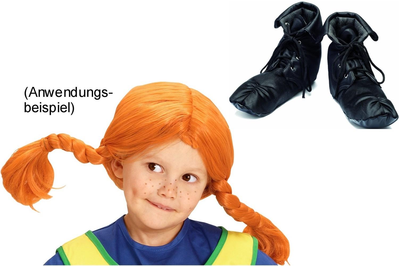 Pippi Langstrumpf Stoff Schuhe Und Perücke