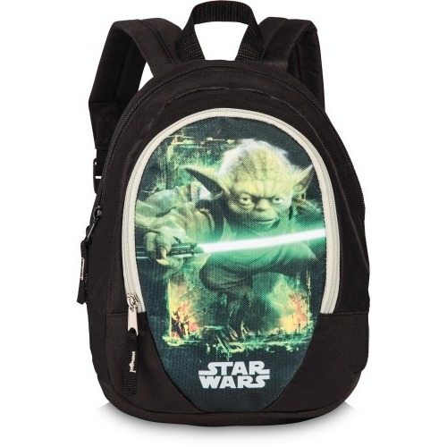 star wars rucksack yoda mit seitentaschen. Black Bedroom Furniture Sets. Home Design Ideas