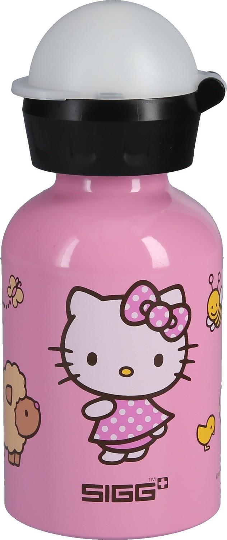 sigg trinkflasche hello kitty auf der farm 0 3 liter. Black Bedroom Furniture Sets. Home Design Ideas