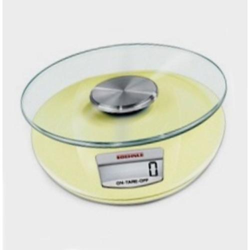 Küchenwaage Fiesta ~ Soehnle Digitale Küchenwaage gelb