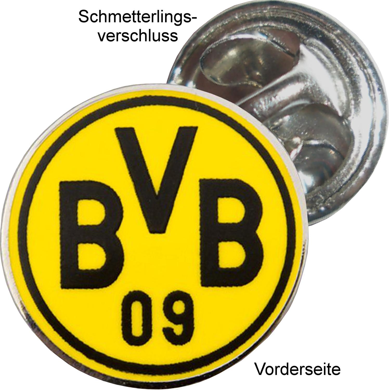 Borussia Dortmund BVBPin Logo, rund