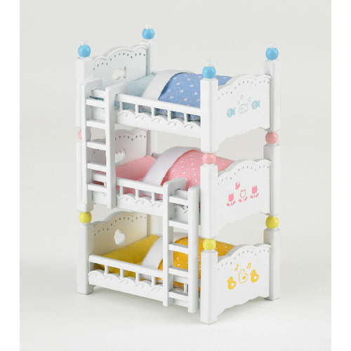sylvanian families dreist ckiges baby hochbett. Black Bedroom Furniture Sets. Home Design Ideas