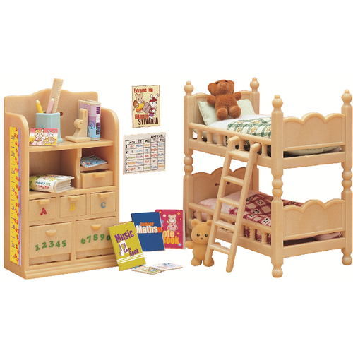 sylvanian families kinderzimmer m bel. Black Bedroom Furniture Sets. Home Design Ideas