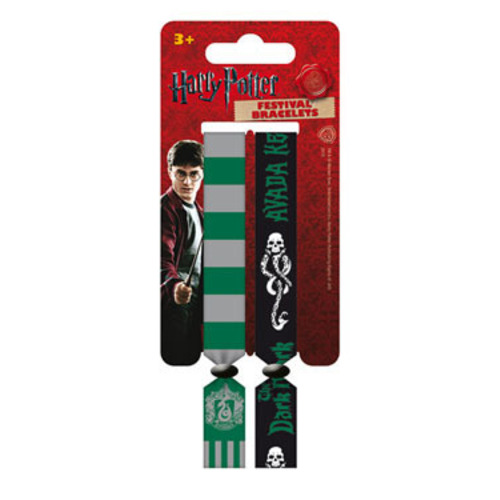 harry potter festival armband doppelpack slytherin. Black Bedroom Furniture Sets. Home Design Ideas