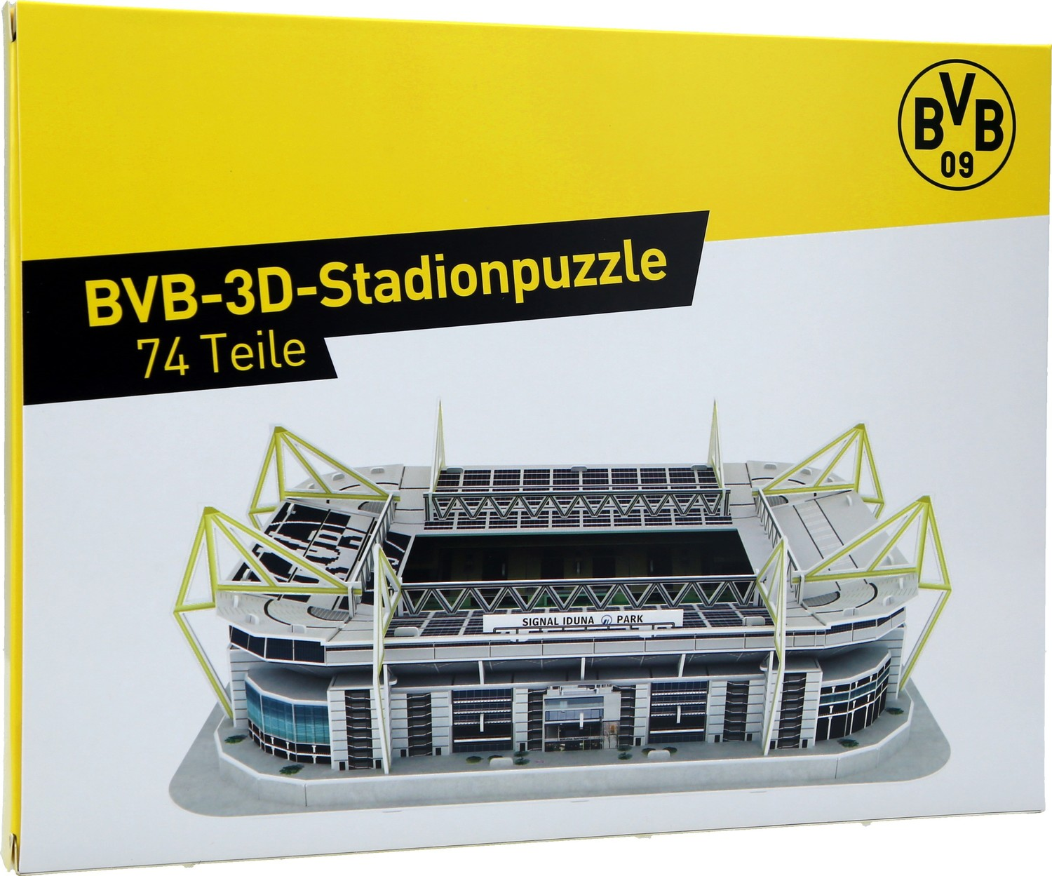 borussia dortmund bvb 3d stadionpuzzle. Black Bedroom Furniture Sets. Home Design Ideas