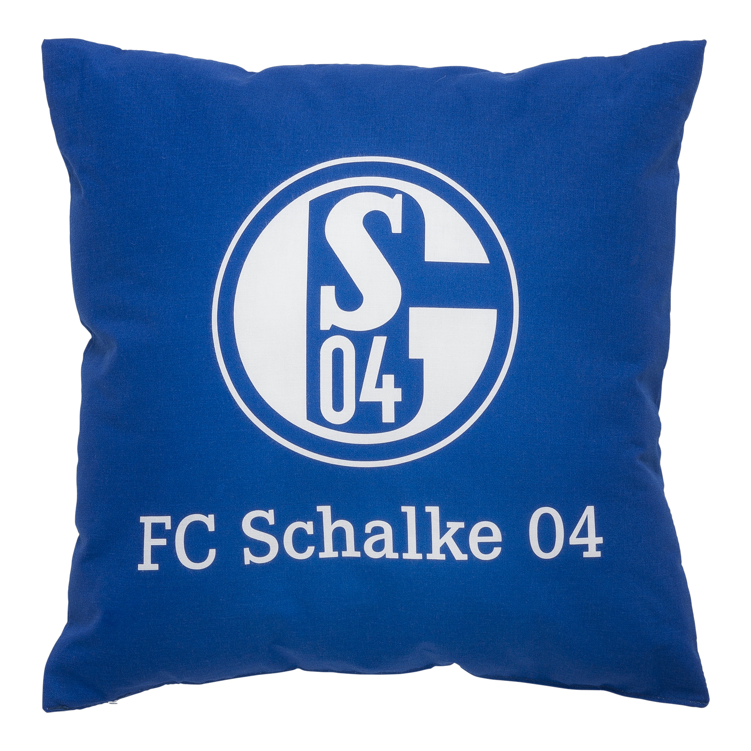fc schalke 04 kissen signet. Black Bedroom Furniture Sets. Home Design Ideas