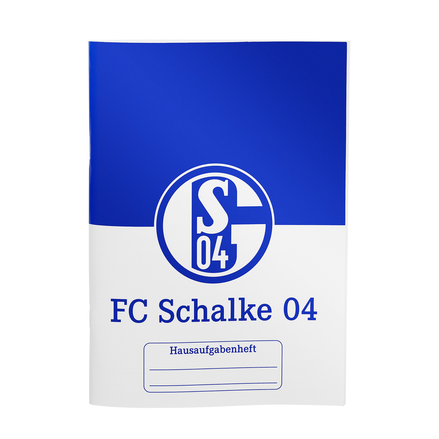 fc schalke 04 hausaufgabenheft din a5. Black Bedroom Furniture Sets. Home Design Ideas