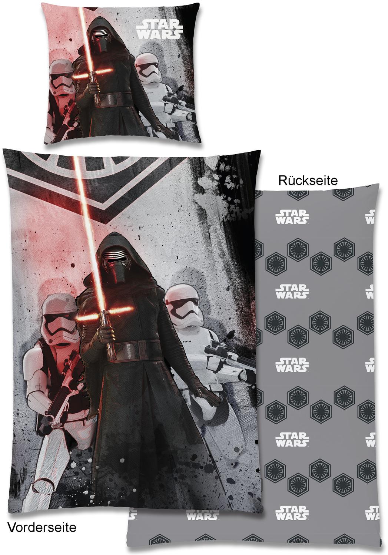 star wars bettw sche the dark side ii 135x200cm. Black Bedroom Furniture Sets. Home Design Ideas