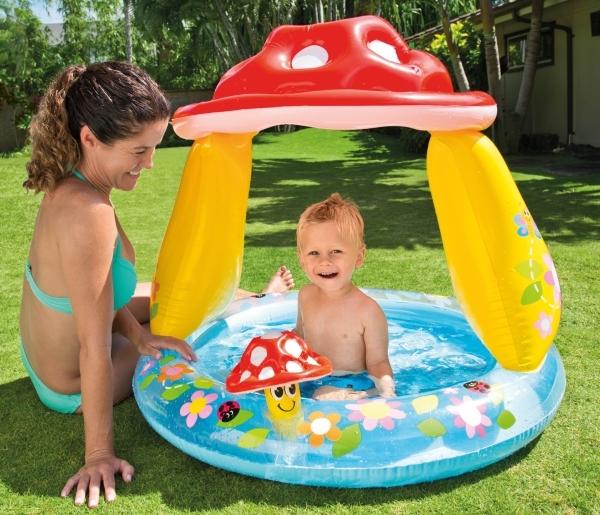 Planschbecken pilz f r baby 39 s - Pool zum aufpumpen ...