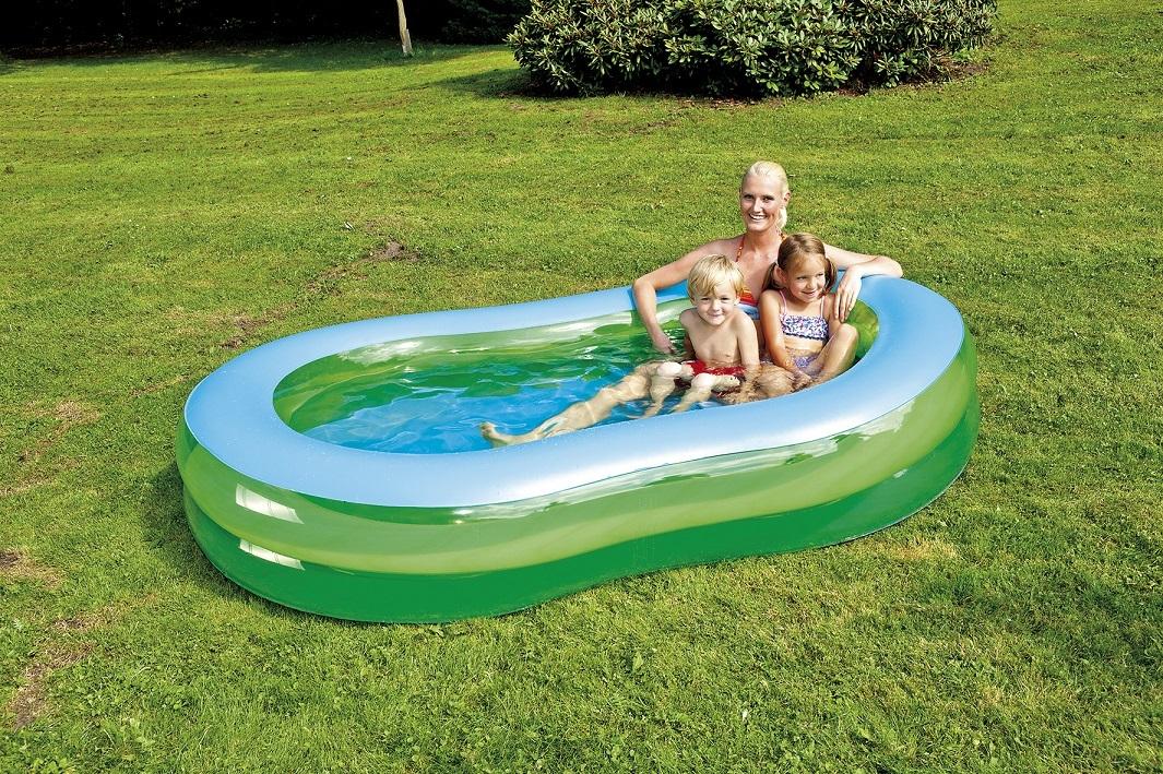 jumbo pool 8 f rmig ca 250x147x40cm. Black Bedroom Furniture Sets. Home Design Ideas