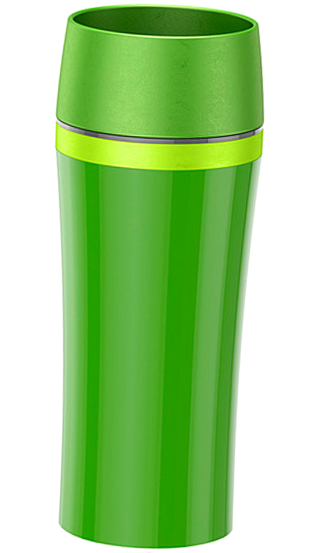 emsa thermobecher travel mug fun dunkelgr n gr n. Black Bedroom Furniture Sets. Home Design Ideas