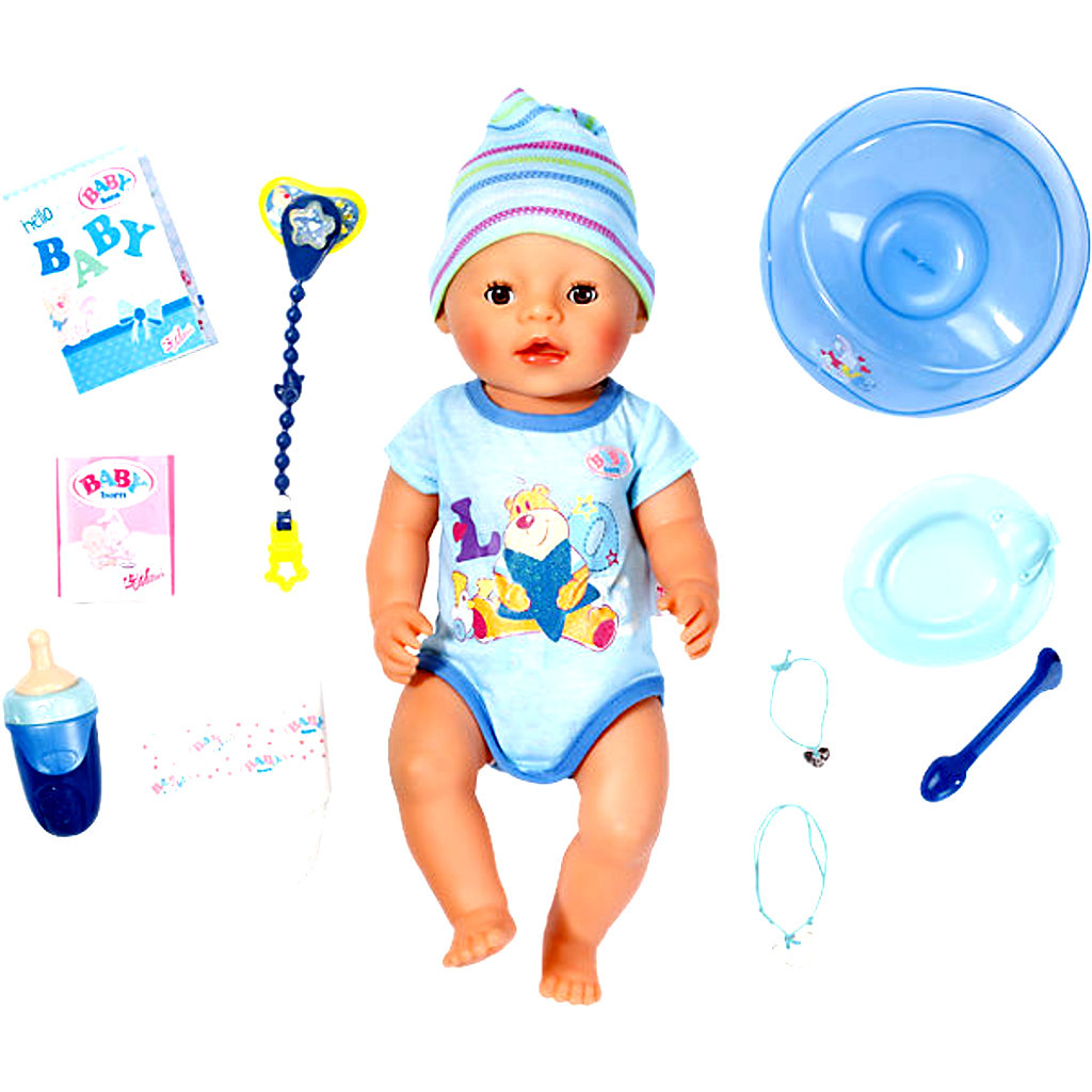 Zapf Creation Baby Born Interactive Junge